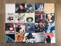 "Job Lot of 20 7"" Vinyl Singles inc. Bryan Adams, Madonna, Prince, The Style Council, etc."