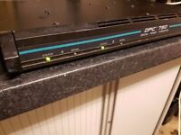 Peavey DPC-750 Amplifier 1U with rack mounts 700w Stereo Or Bridged output