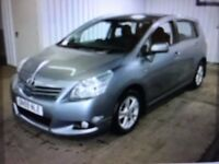 TOYOTA VERSO 1.8 PETROL CVT AUTOMATIC 7 SEATER 44400 GENUINE MILES F/S/H FINANCE £333 PR MONTH