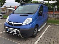 ** MUST LOOK ** 2013 Vauxhall Vivaro Van 2700 CDTI 89 - SWB - Blue - Diesel - Manual **LOW MILES**