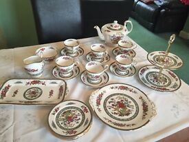 Paragon tea service, fine bone china