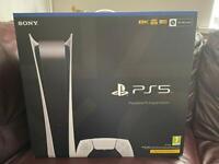 Sony PlayStation 5 digital edition- brand new