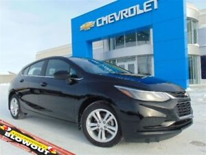 2017 Chevrolet Cruze LT Hatch Auto *Block heater *Heated seats *