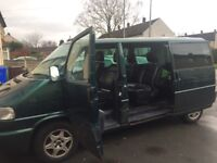 SELLING VW Caravelle (top of the range 2002)