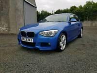 2013 BMW 1 Series 120d M Sport 66k Miles