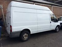 FORD TRANSIT T350 LWB HIGH TOP READY TO WORK 1 year MOT