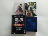 Dr Who box DVD 1st series complete in Police box & 2nd series complete