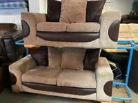 VERY NICE FABRIC SOFA SET 3+2 SEATER IN EXCELLENT CONDITION