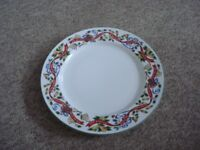 royal worcester twelve days of christmas plate
