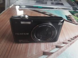 """Compact digital camera """"FUJIFILM JX660"""" in a perfect condition as just been used a few times. £40"""