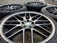 """19"""" BMW CSL ALLOY WHEELS & TYRES"""