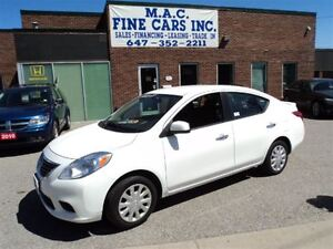 2013 Nissan Versa FULLY LOADED - CERTIFIED