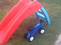 SLIDE + Toddlebike2 (balance bike)