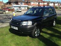 2003 Land Rover freelander td4 full leather 132k drives perfect