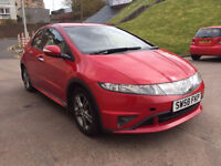 2009**HONDA CIVIC 1.3 SE I-DSI 5d 82 BHP VERY LOW MILEAGE, 1 PREVIOUS OWNER SERVICE RECORD