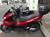 Honda PCX 125 Burgundy/Red