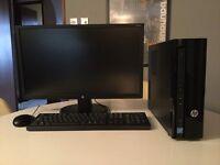 HP slimline Desktop PC 411-a005na PC Bundle - Excellent condition