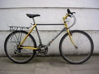 Mountain/ Commuter Bike by Carrera ,Yellow & Grey,Old School!! JUST SERVICED / CHEAP PRICE!!!!!!!