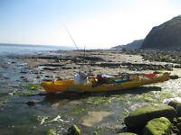 Ocean Kayak Prowler Ultra 4.7xt Fishing Kayak With Fishfinder, Rudder, Paddle, Seat and Etrex GPS