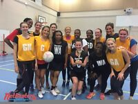Netball teams and players wanted in Clapham South for a social league