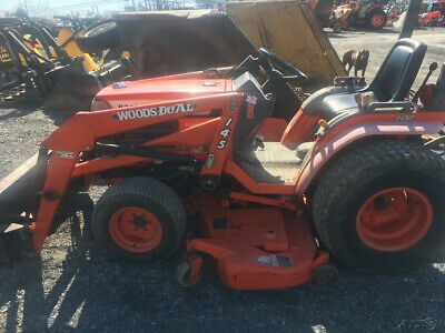 2001 Kubota B2400 4x4 Hydro Compact Tractor W Loader Mower Coming Soon