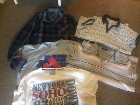 Men's clothing bundle size large