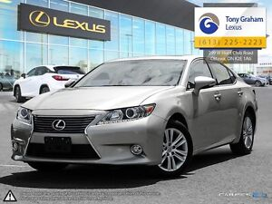 2013 Lexus ES 350 Leather and Nav Pkg