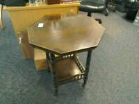 Occasional table hexagon shape #32661 £45