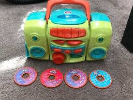 Chad Valley toy CD player