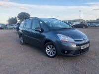 2010 CITROEN C4 GRAND PICASSO 1.6 HDI AUTOMATIC, 7 SEATER, CRUISE, MOT 12 MONTHS