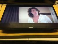 "Samsung 32"" LED TV FREEVIEW Warranty usb scart Hdmi Full HD"
