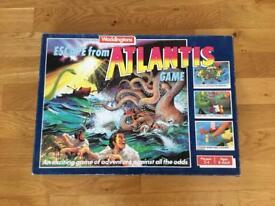 Escape from Atlantis board game.