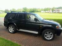 Mitsubishi warrior sport 2004 swap best diesel and towbar only 104.000 mile (bargain)