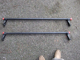 Roof bars for old classic cars with roof gutters