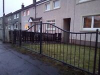Gates welding fencing metal work