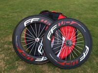 Fast Forward 80mm carbon wheelset