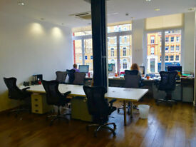 Great desks to rent in Clerkenwell/Farringdon