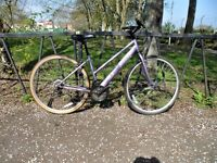 """Ladies Road Bike Bicycle. Fully Serviced, Ready To Ride & Guaranteed. 18 Speed. 17"""" Frame"""