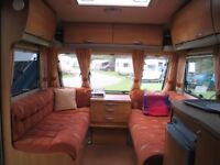 2006 Swift Charisma 550 - 4 berth/fitted double bed caravan + all extras you need to get started