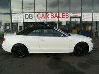 CONVERTIBLE!! 2010 10 AUDI 3.0 S5 TFSI QUATTRO 2D AUTO 329 BHP **** GUARANTEED FINANCE ****