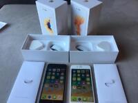 IPhone 6s - unlocked - 16gb + 32gb - rose gold / space grey