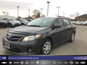 2013 Toyota Corolla CE (5M) | NO ACCIDENTS | LOCAL |