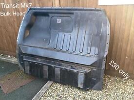 Ford Transit MK7 short wheel base door bulk head sliding door