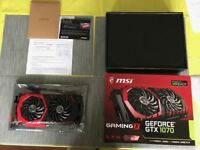 Graphic card MSI GTX 1070 GamingX 8GB