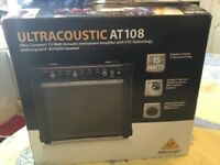 Behringer ultracoustic amplififer