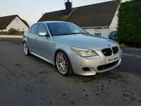 """2006 BMW 525D M Sport 20"""" alloys. Twin pipes not 520 530 a4"""