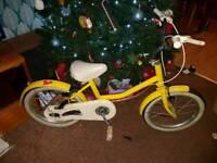 Retro girls Raleigh bike