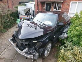 BMW E60 535D MSPORT FOR SALE - CRASHED