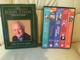 *** FREE .. V.H.S. BOX SET... THE JOHN THAW COLLECTION... AS NEW ***