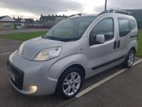 2010 FIAT QUBO DYNAMIC 1.3 DIESEL MULTIJET, AUTOMATIC, WHEELCHAIR ACCESS VEHICLE 30K MILES. FSH.